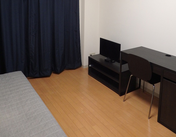 入居者様に普段と変わりない、いつも通りの毎日をお過ごし頂けるよう、「シンプルである」ことを心掛け、お部屋をしつらえております。